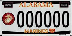 alabama marine license plate
